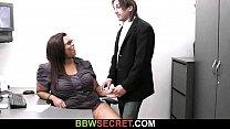 He cheats with big boobs ebony secretaty