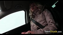 dumped girl needs ride in cold weather