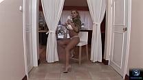 Dorothy Black classy teasing and solo masturbation
