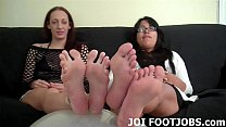 Beg to worship our perfect little feet