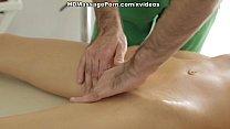 Nude massage gets the blondie sex-crazy scene 2