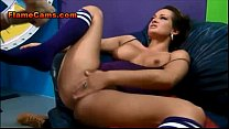 Babe Licks Her Tits As Shes Fucked Hard