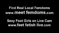 You are such a little foot fetish pervert
