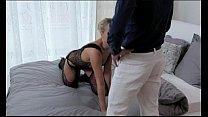 StrapOn Hot blonde women pleasured by double pe...