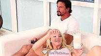 HD PureMature - Blonde Laura Bentley teases man...