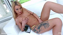Katrin Tequila gets messy gonzo creampie on All Internal