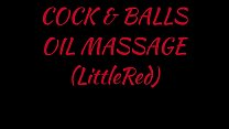 Cock and Balls Oil Massage (LittleRed)