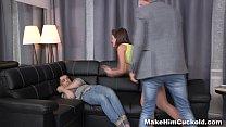 Make Him Cuckold - Bound cuckolding for cheating