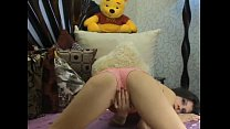 Webcam - Pink Panty Pillow Hump