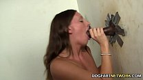 Jamie Jackson Fucks A Black Cock At A Glory Hole