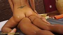 Big tits lesbians slippery sex