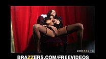 SEXY Latina burlesque dancer Anissa Kate squirt...