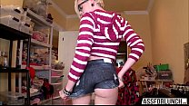 Petite blonde Miley May gets fucked hard by an ...