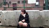 Teen Indian Zarina Massoud Peeing Outdoors