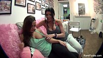 Romi Rain Lesbian Body Paint