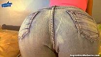 Big Ass Latin Teen in G-String and Tight Jeans ...