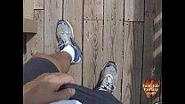 Nice Foot Job With Stockings