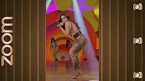 Anitta Super GOSTOSA Provocando Com Calça Legging De Oncinha Socadinha No Rabo!