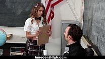 InnocentHigh - Petite Schoolgirl Banged In The ...