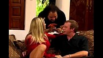 Vicky Vette and Mark Wood