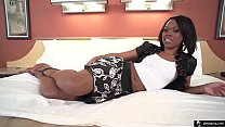 18yr Old Black Teen Nice Ass in Amateur 1st Tim...