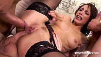 Nikita Bellucci Gets Double Anal in a POV Gangbang