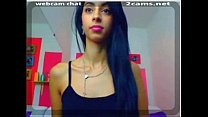 Watch this sexy latina teen masterbating with d...