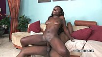 Black cutie Osa Lovely is getting fucked in the...