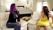 Busty witch Jelena Jensen and the disappointed wife Angela White
