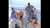 On boat foursome