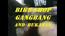 Rosie Paige Bike Shop Gangbang Bukkake