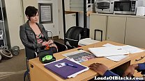Inked casting babe fucked in shavedpussy