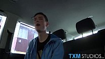 Huge loads of warm cumshots for this horny twink Olly Tayler