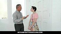 MybabysittersClub - Cute Babysitter Paid In Cum