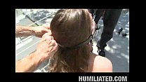Busty June's Husband Humiliates Her
