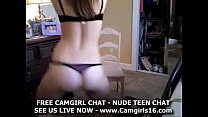 On Panties And Bras On Webcam
