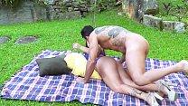 Jardineiro Safado Comendo A Ruiva Brasileira