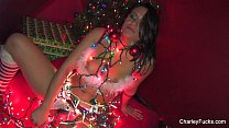 Charley Chase Gets Some Christmas Cock