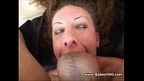 mouth used as a hole