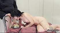Hot teen was brought in ass hole nuthouse for p...