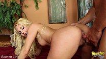 Blonde Aalyiah Love gets nailed