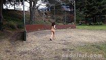 Nude in San Francisco: Sasha Yung jogs around ...