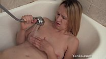 Busty Mary Masturbating In Bath