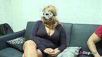 guy masked fuck to want blonde boobed Big
