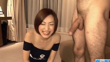 Aya sakuraba provides steamy pleasures on two hard cocks 9