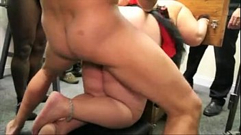 Submissive housewife gangbang