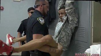 Gay interracial cops man vid