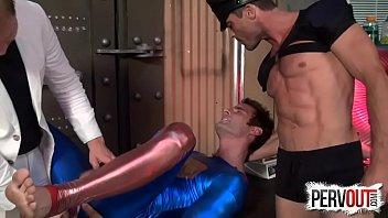 Superman double teamed lance hart, cameron kinc...