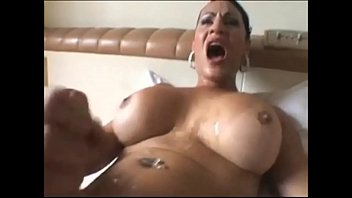 Fuck facials ebony hung shemale