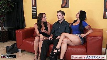 Gorgeous brunettes katrina jade and kayla west ...